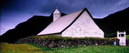Kirchhof in Island