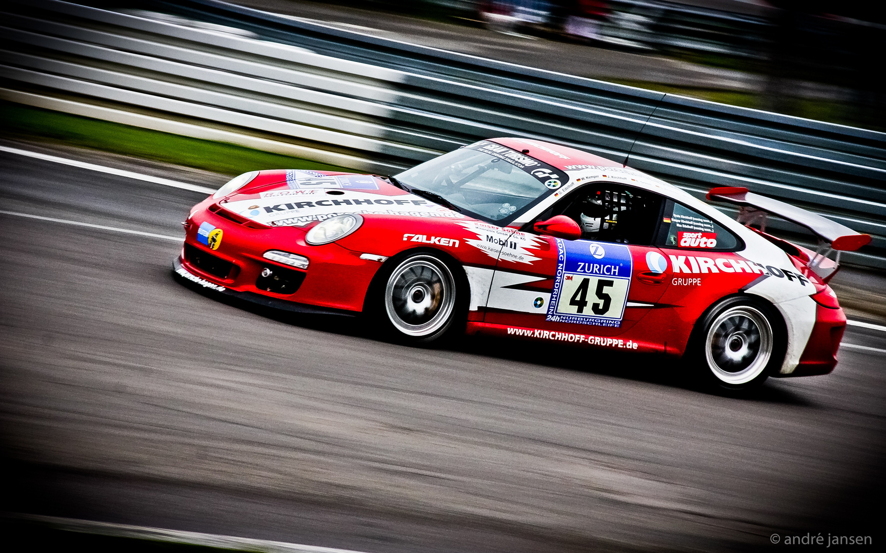Kirchhoff Porsche Nürburgring 2011