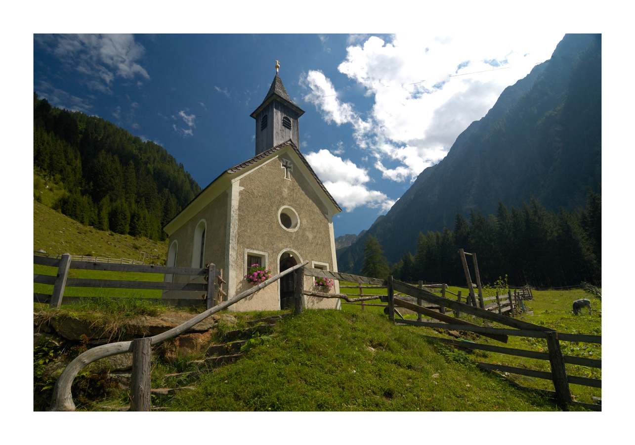Kirchlein St. Anna, Pfistrad, Passeiertal, Italy