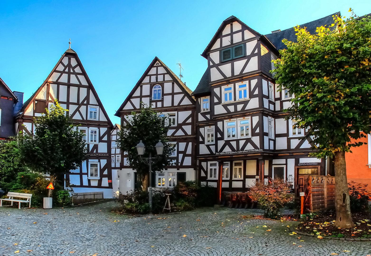 Kirchplatz in Bad Laasphe