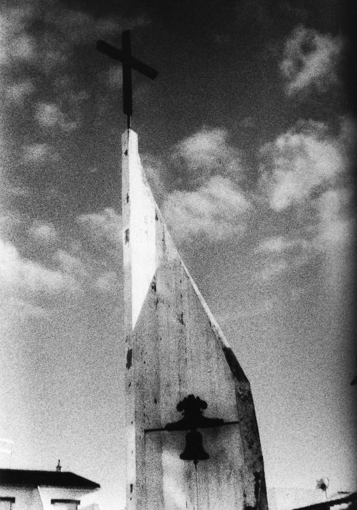 Kirchturm in Burgau