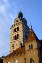 Kirchturm in Regensburg