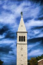 Kirchturm Novigrad (Kroatien)