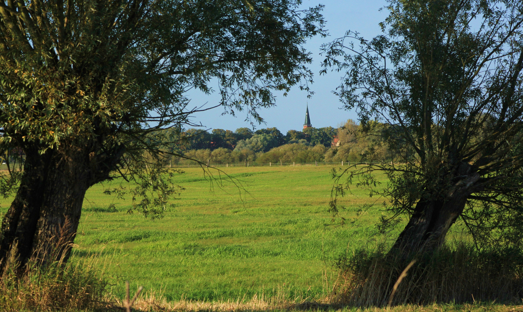 Kirchturm von Dömitz/Elbe