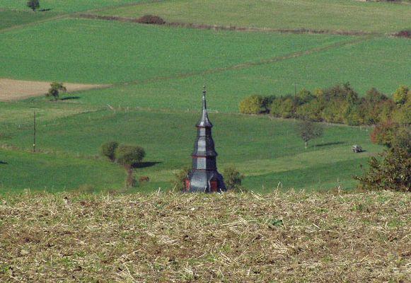 Kirchturmspitze von Laufenselden