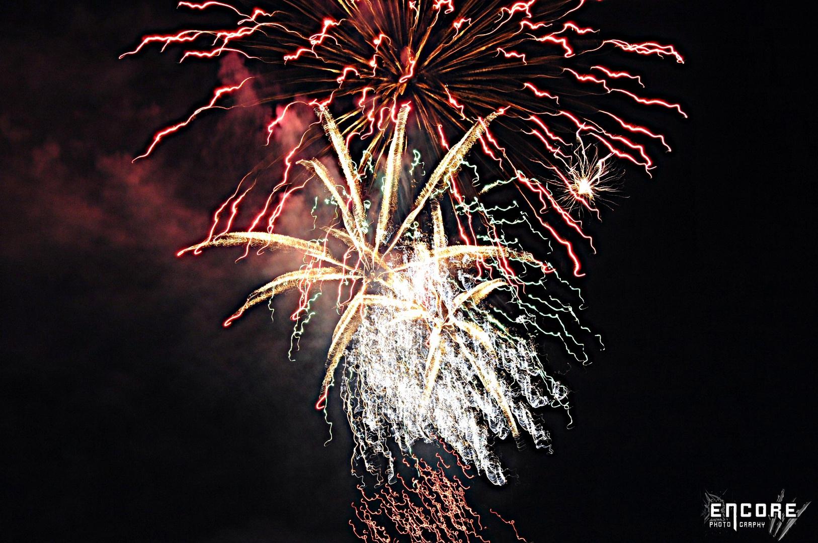 Kirchweihfeuerwerk 2011 Pleinfeld am Brombachsee