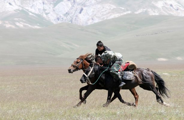 Kirgisische Reiter 09