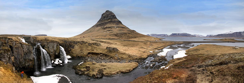 Kirkjufellfoss - Fotografen bei der Arbeit ;)