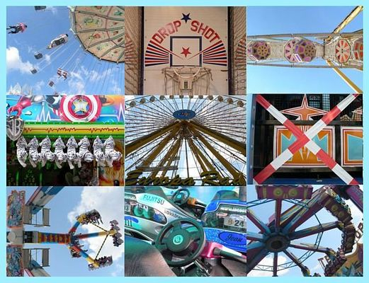 kirmes - colours and shapes