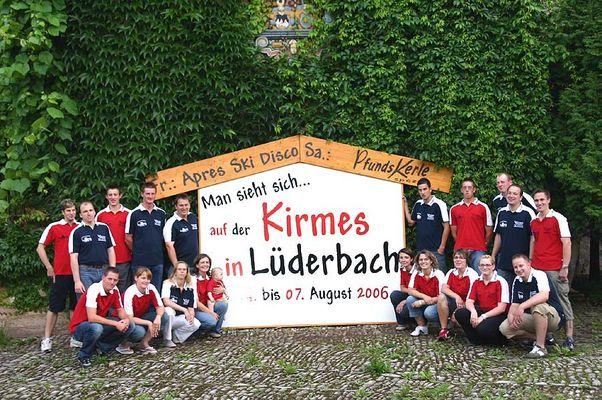 Kirmes in Lüderbach mit den Pfundskerlen aus Tirol