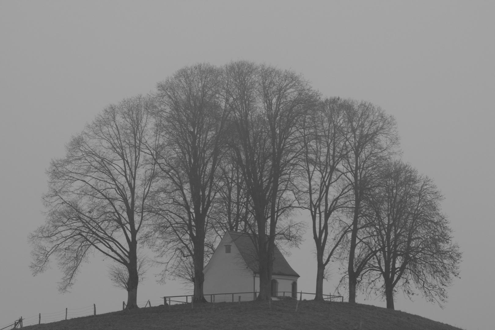 Kirnbergkapelle Antdorf - Novembertag