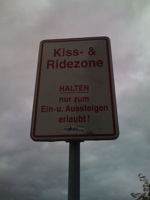 Kiss- & Rideozone