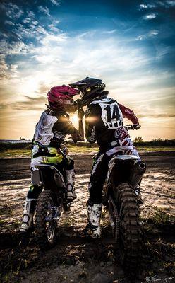 Kissing Motocrossers