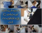 Kitchen colour making of