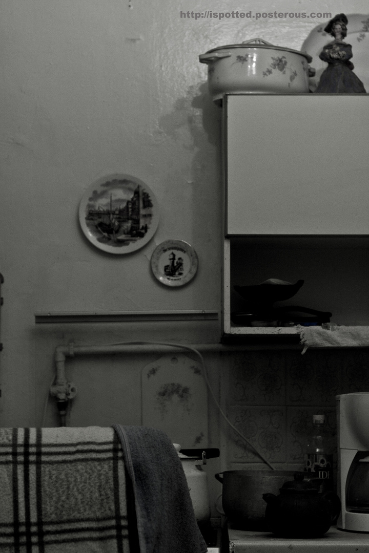 Kitchen, somewhere in Moscow