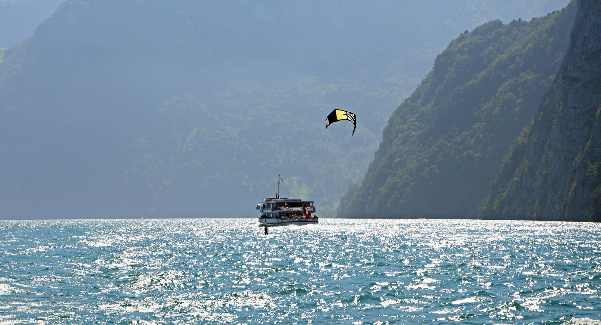 Kite am Vierwaldstättersee 1