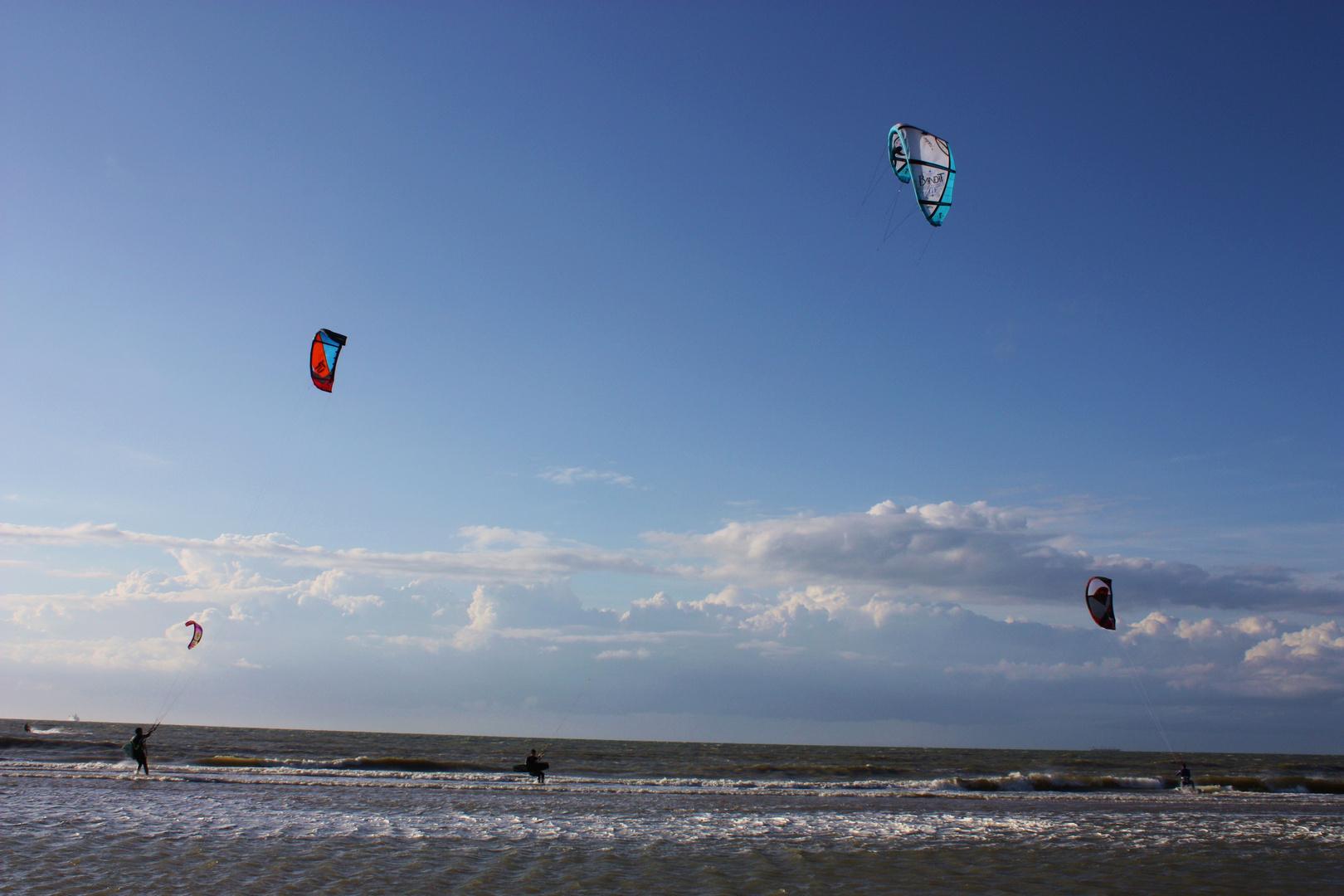 Kite-Spaß mit Platz