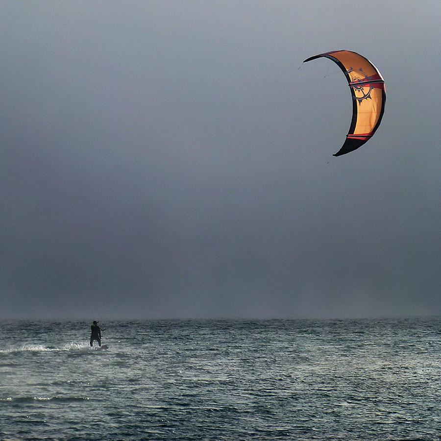Kite Surfen....