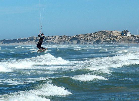 Kite Surfer in der Jammerbucht