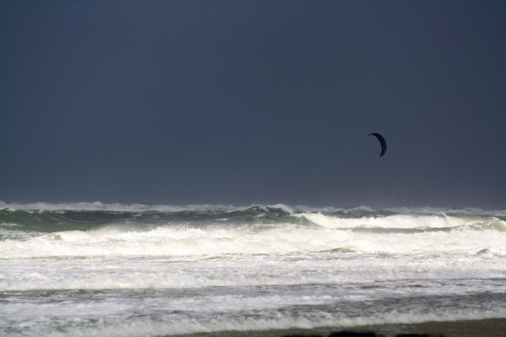 Kite Surfer Westerland