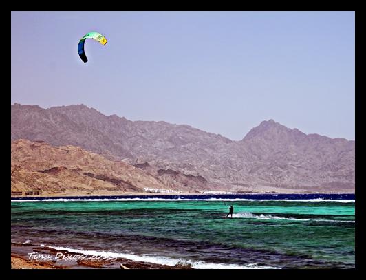 Kiten am Roren Meer