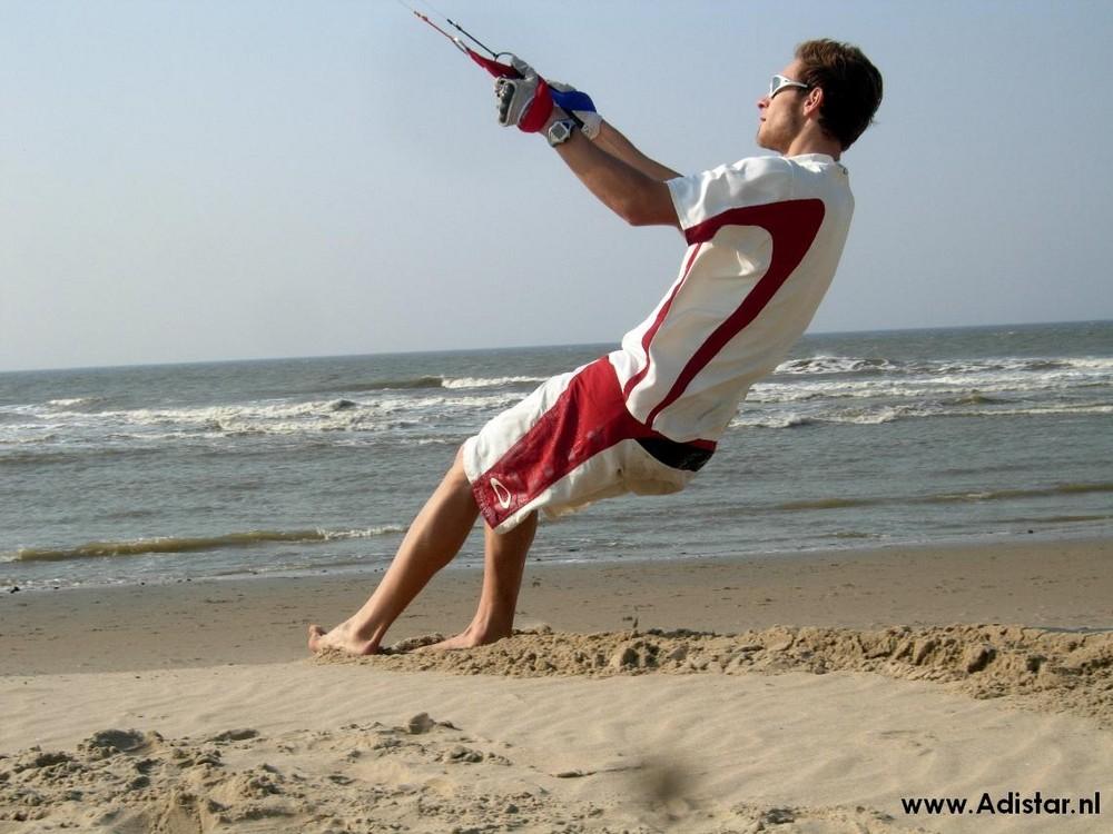 Kiten auf Texel ---> Adistar