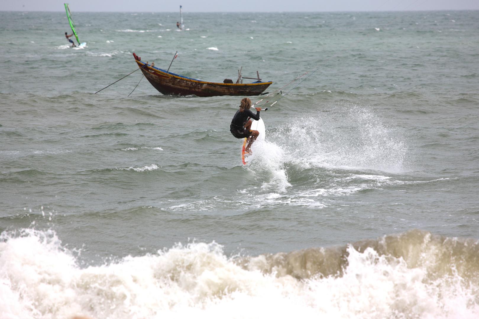 Kitesurf à Mui Ne