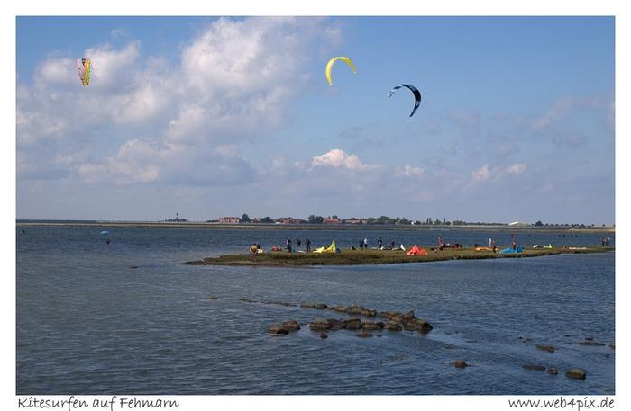 Kitesurfen auf Fehmarn