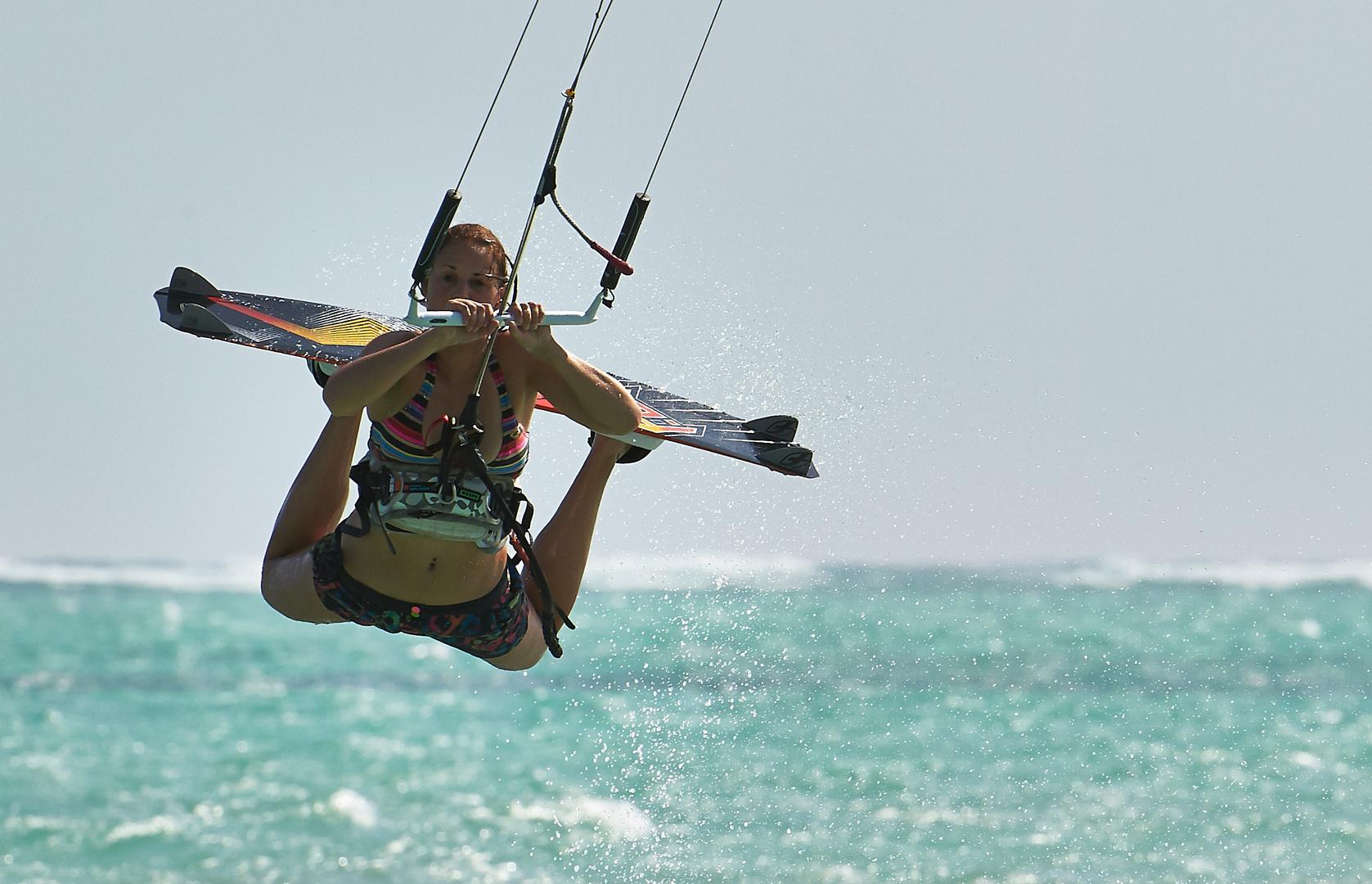 Kitesurfen auf Zanzibar