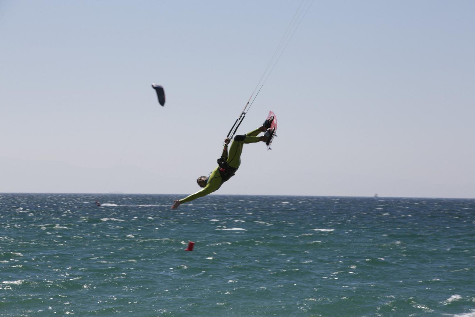 Kitesurfen in Safari Andalusien