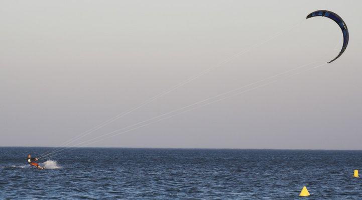Kitesurfen in Südfrankreich