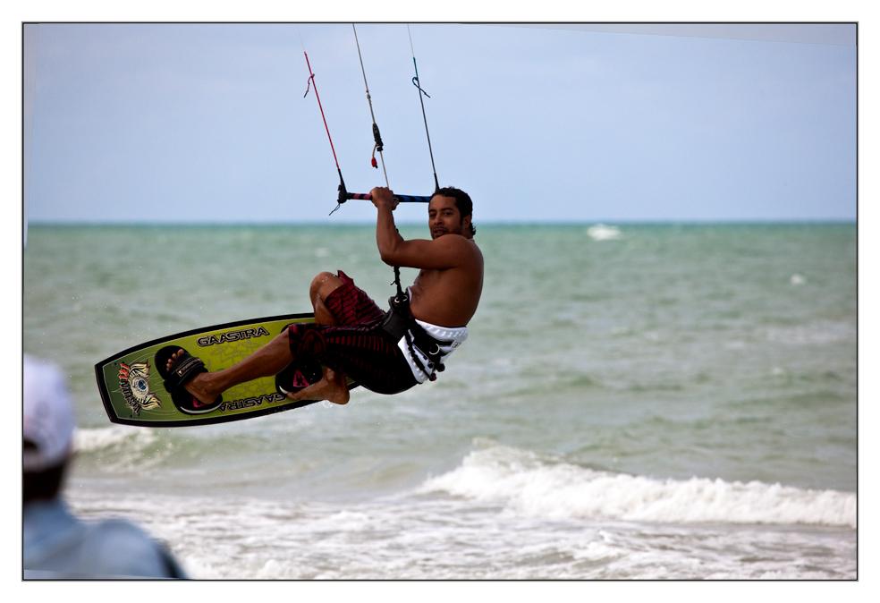 Kitesurfer bei Varadero/Kuba