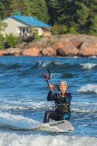Kitesurfer Degersand