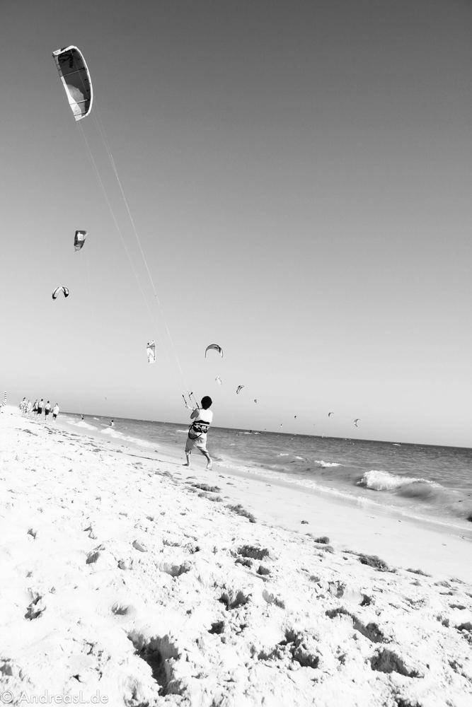 Kitesurfer / Sommer / Strand