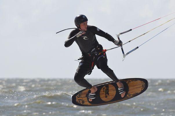 Kitesurfer Sylt
