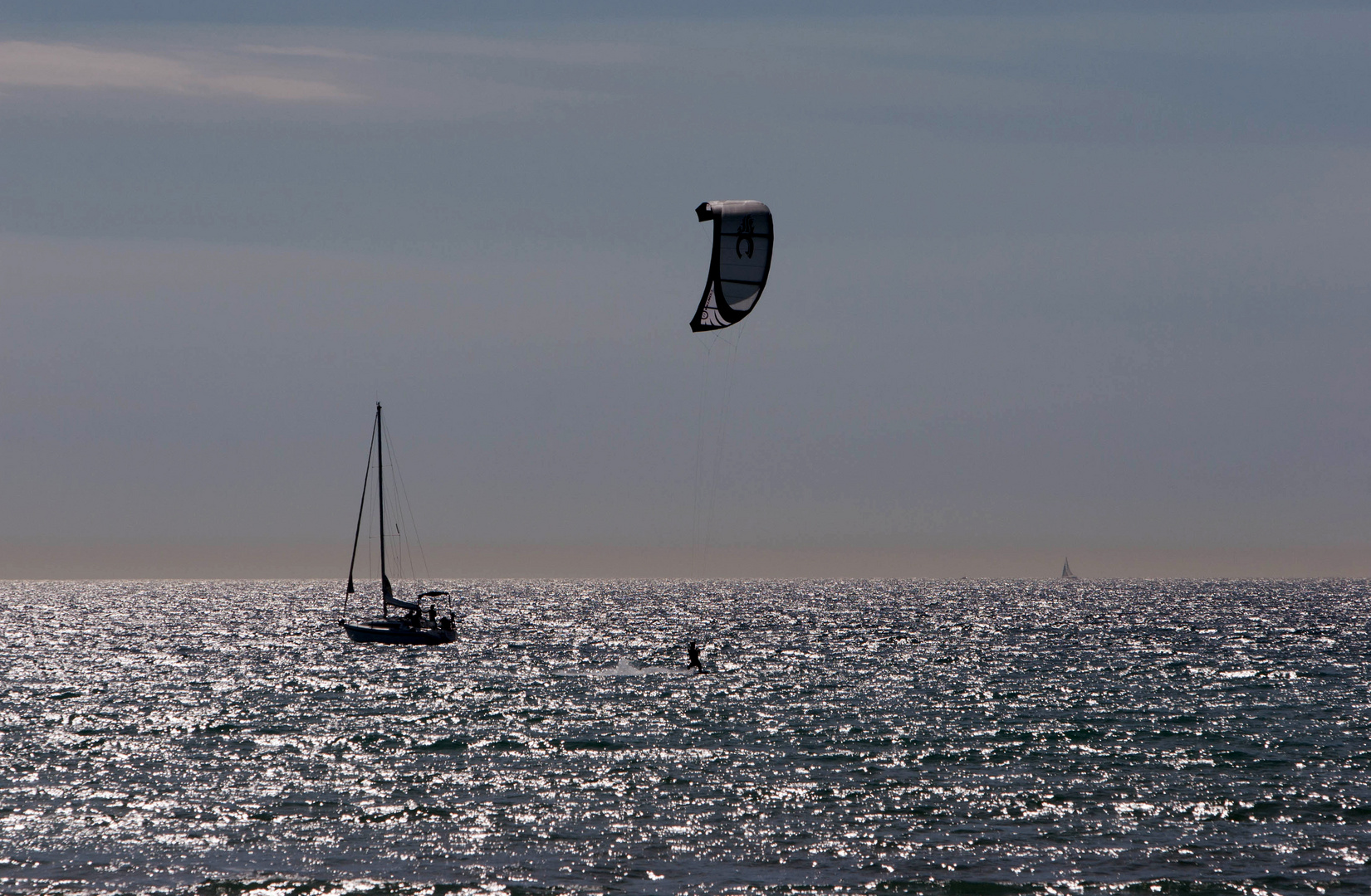 Kitesurfing....
