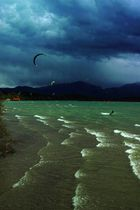 Kitesurver am Chiemsee