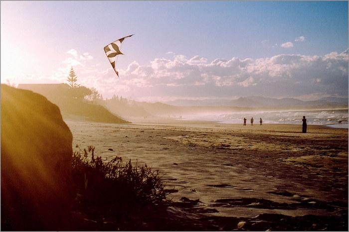 Kiting The Sun Down