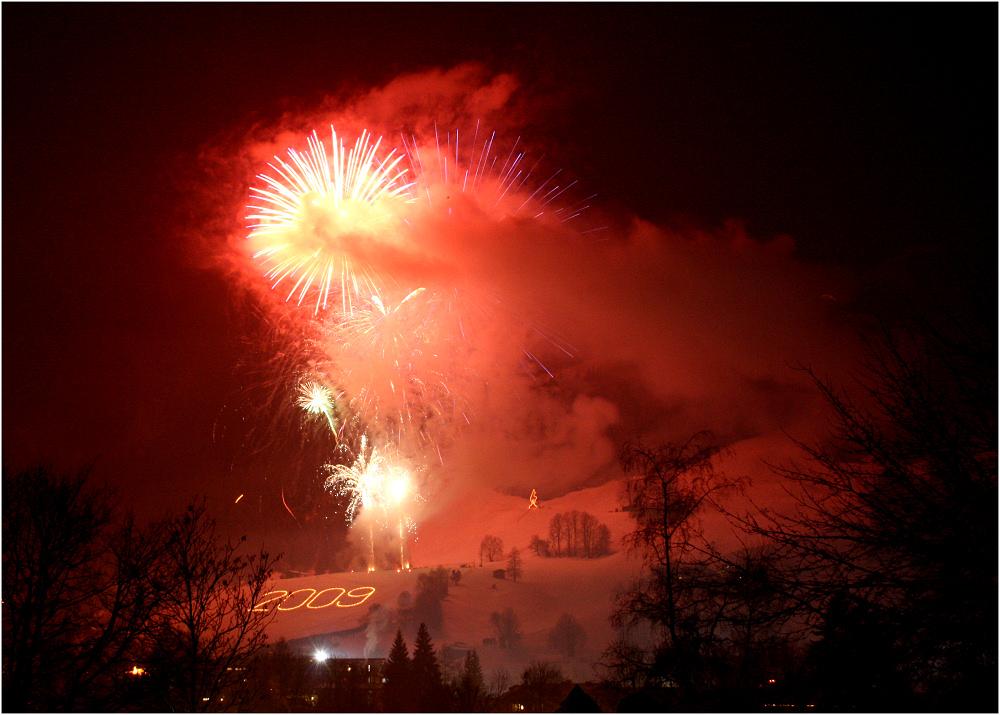 Kitzbühel - Neujahrsfeuerwerk 2009
