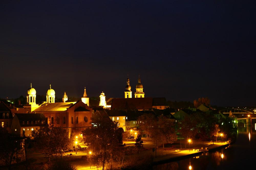 Kitzingen bei Nacht
