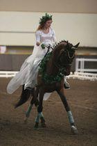 Kjur, Dressurmeisterschaft junge Reiter in Moskau 1