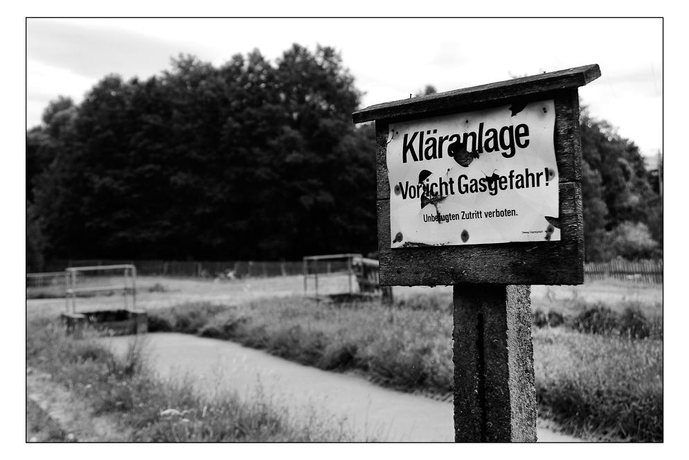 Kläranlage - Thüringer Impressionen I