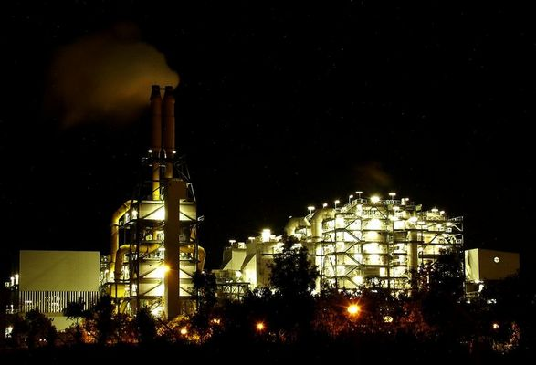Klärwerk der BASF Ludwigshafen