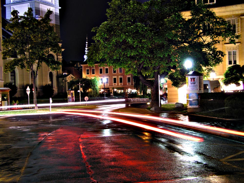 Klagenfurt bei Nacht 01