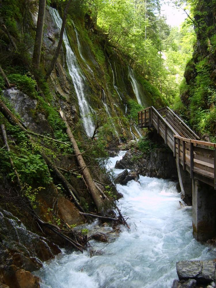 Klamm bei Berchtesgaden Foto & Bild | landschaft, berge ...