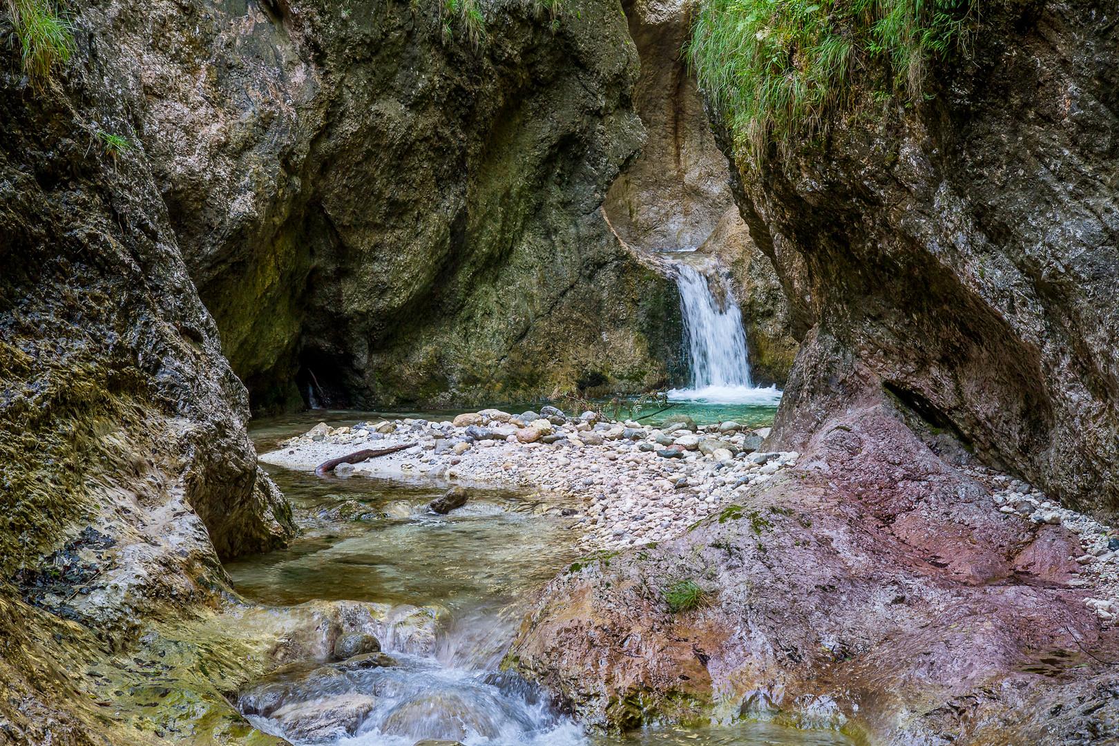 Klamm bei Berchtesgaden Foto & Bild | wasser, natur ...
