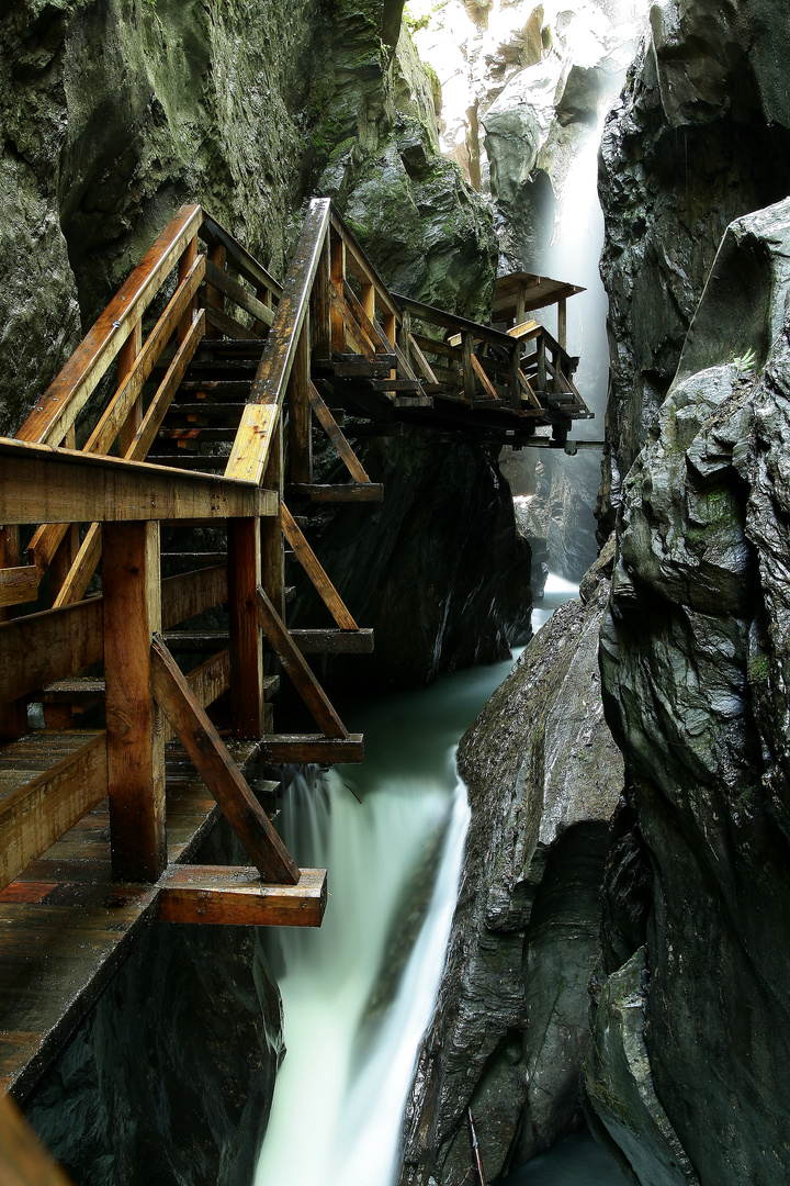 klamm in der region zell am see