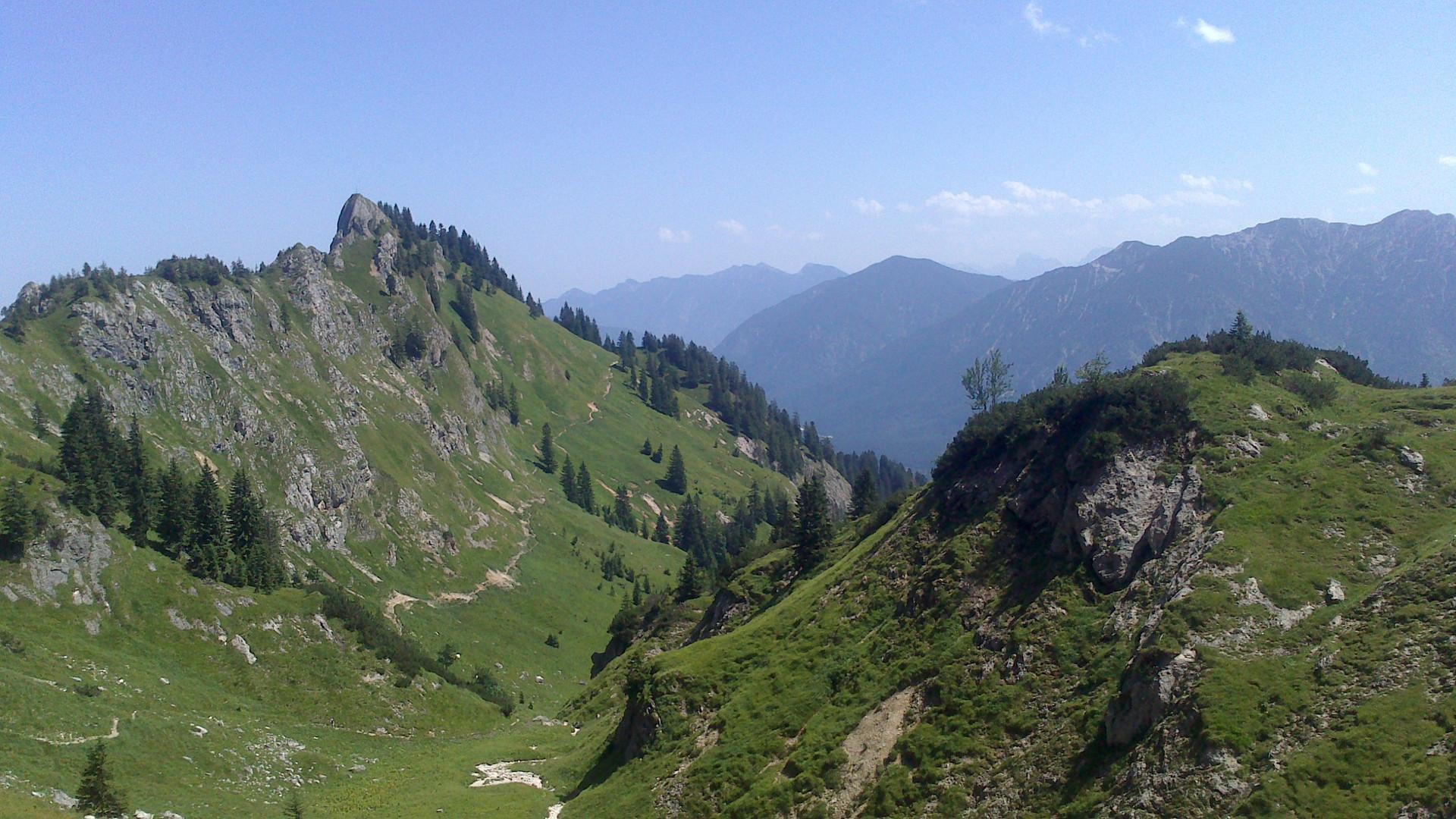 Klammspitze Ammergauer Alpen