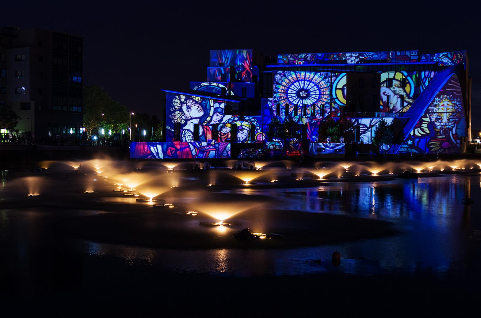 Klang und Licht im Sommer 2013 in Straßburg