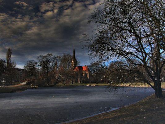Klara Park im Herbst